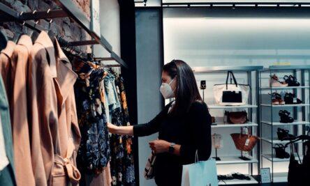 loja de roupas pandemia