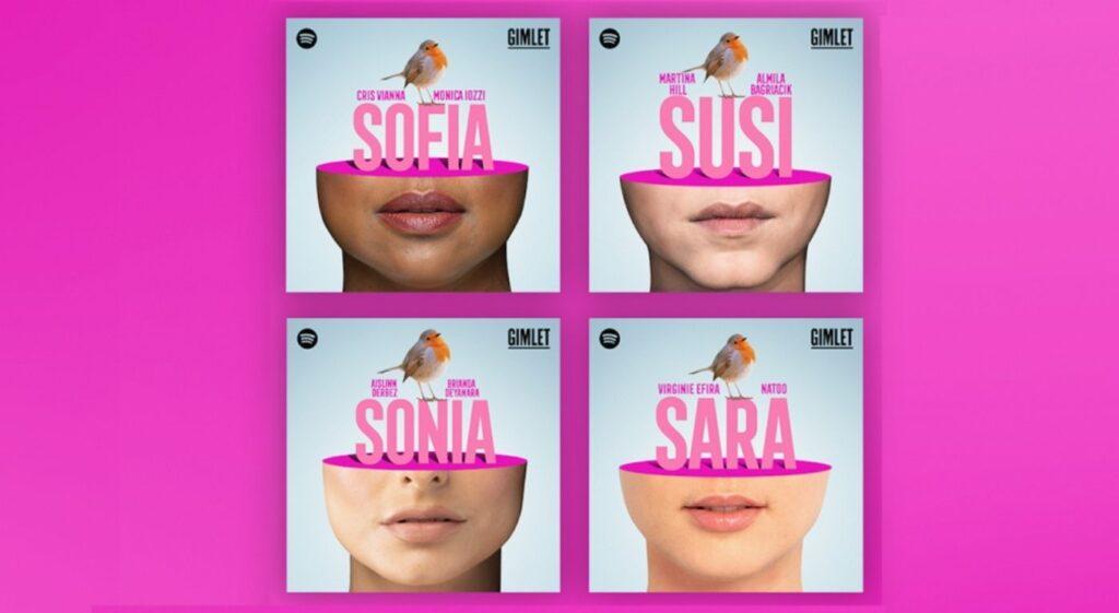 Áudio série Sofia. Divulgação © Spotify