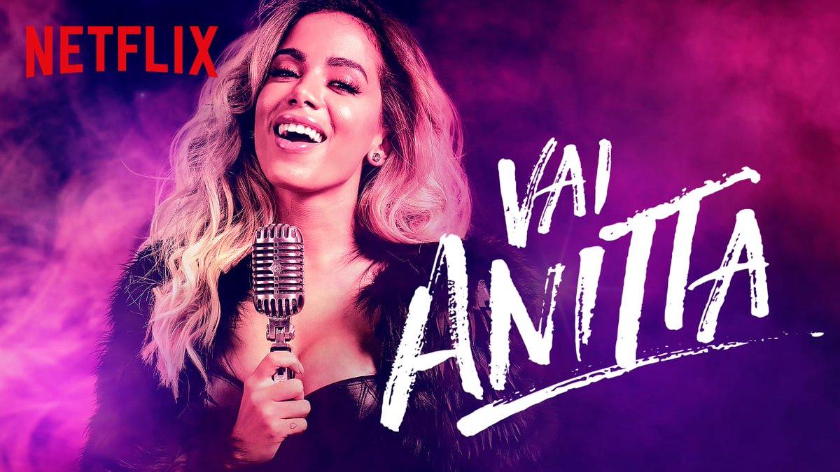 Capa da Série Documental Vai Anitta