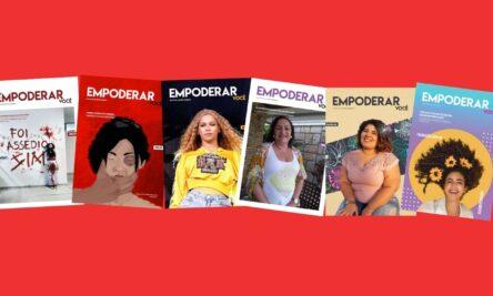 Capas da revista Empoderar Você