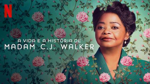Capa da Minissérie A Vida e a História de Madam C.J. Walker