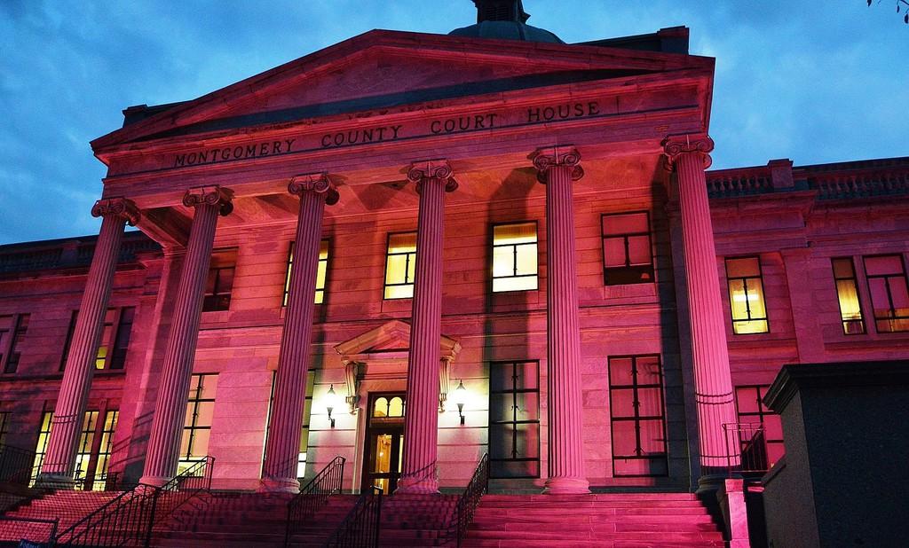 corte montgomery county outubro rosa