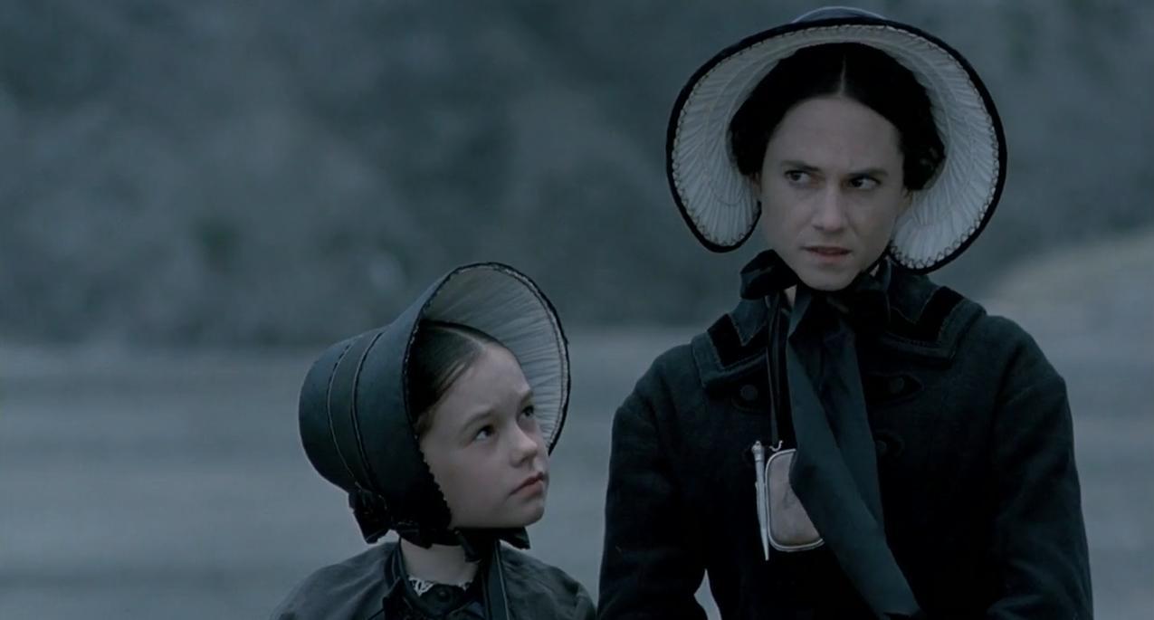 Ada e sua filha,, em uma das cenas de O Piano. Filmes dirigidos por mulheres
