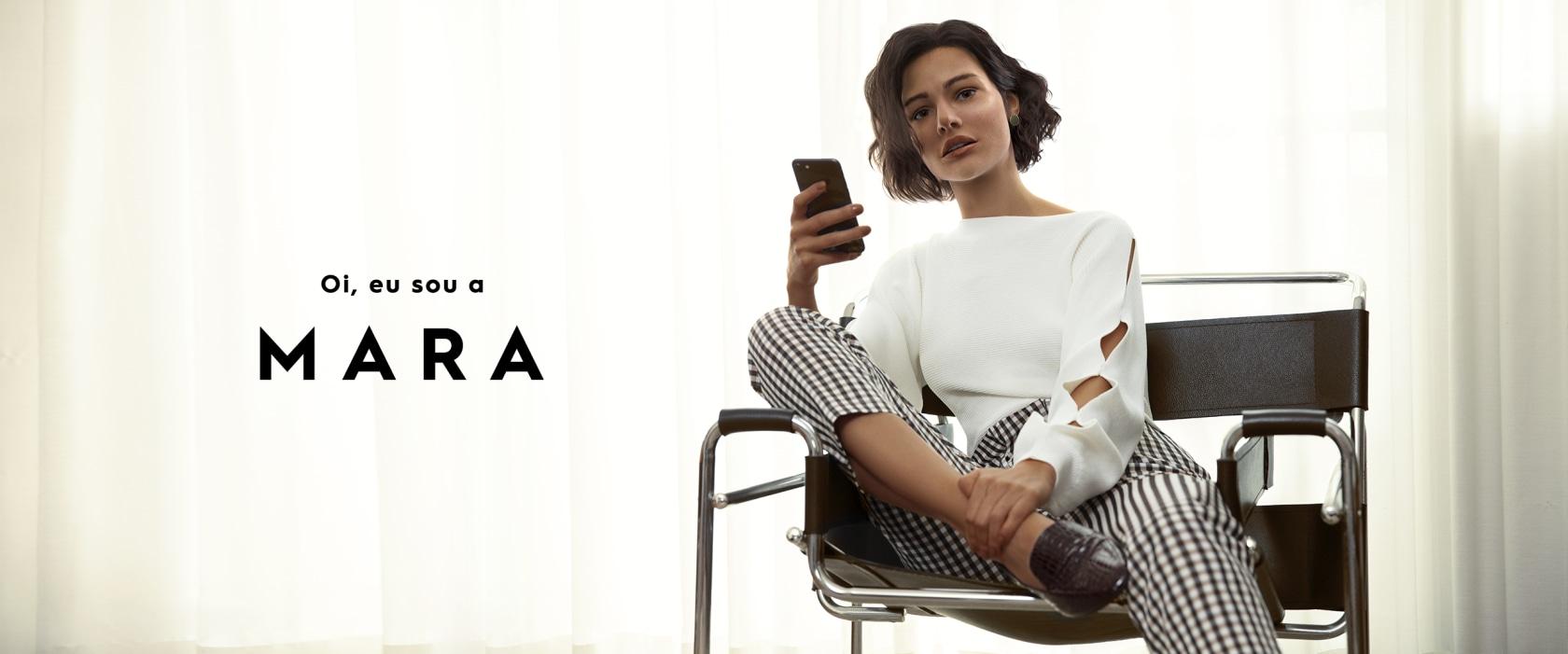 Pessoas virtuais -  Mara da Amaro
