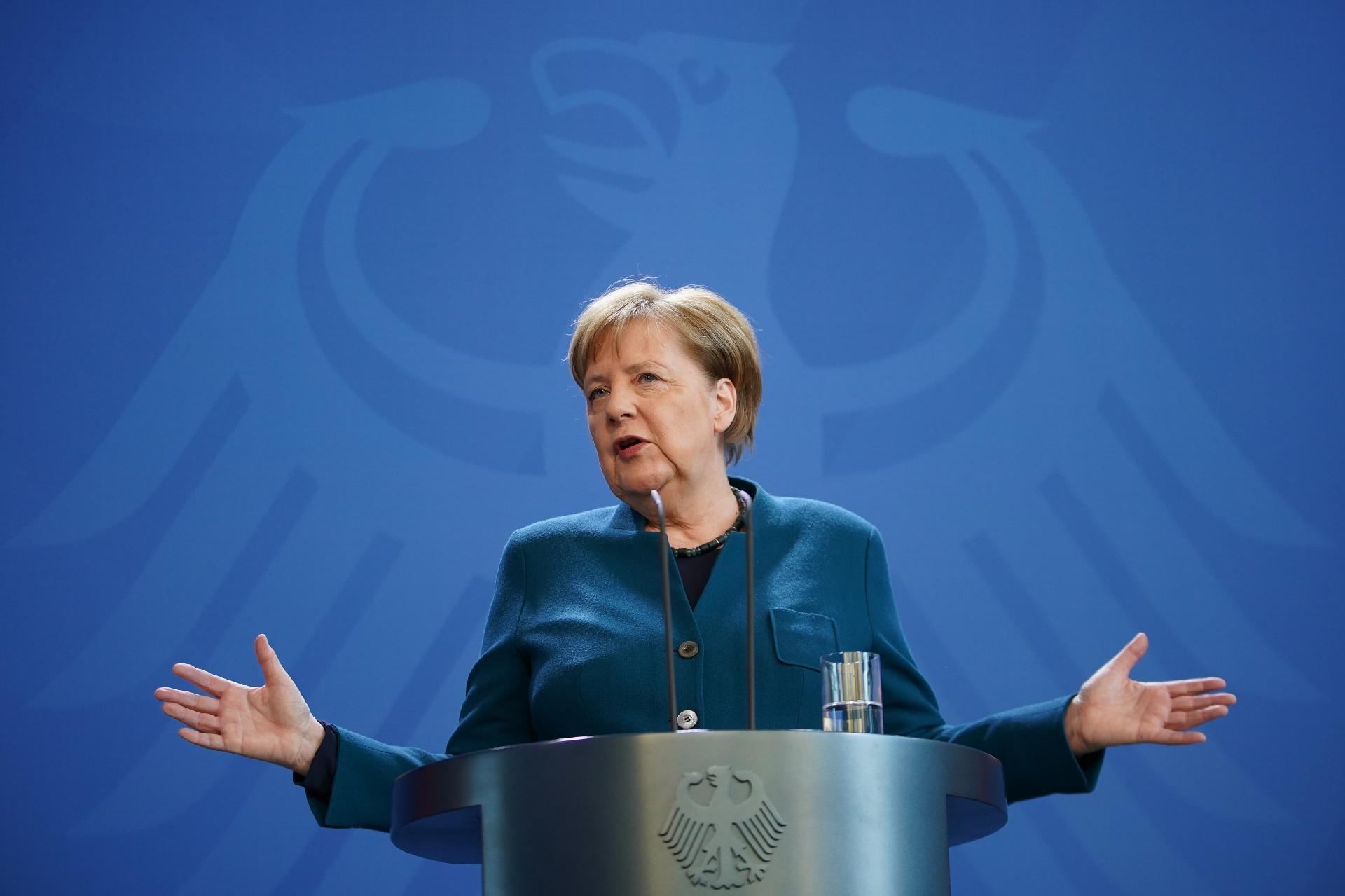 Angela Merkel Primeira da lista de mulheres mais poderosas do mundo em 2020