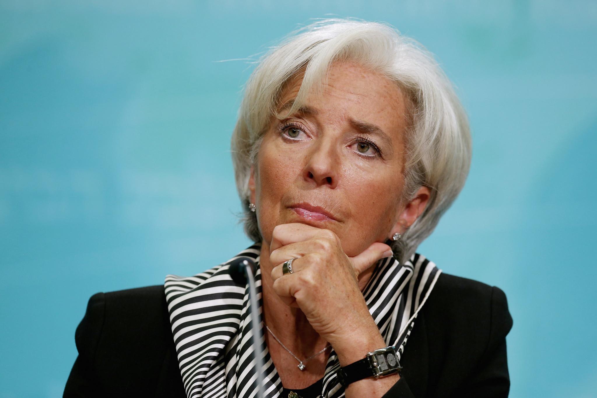 Christine Lagarde segunda na lista das mulheres mais poderosas do mundo em 2020