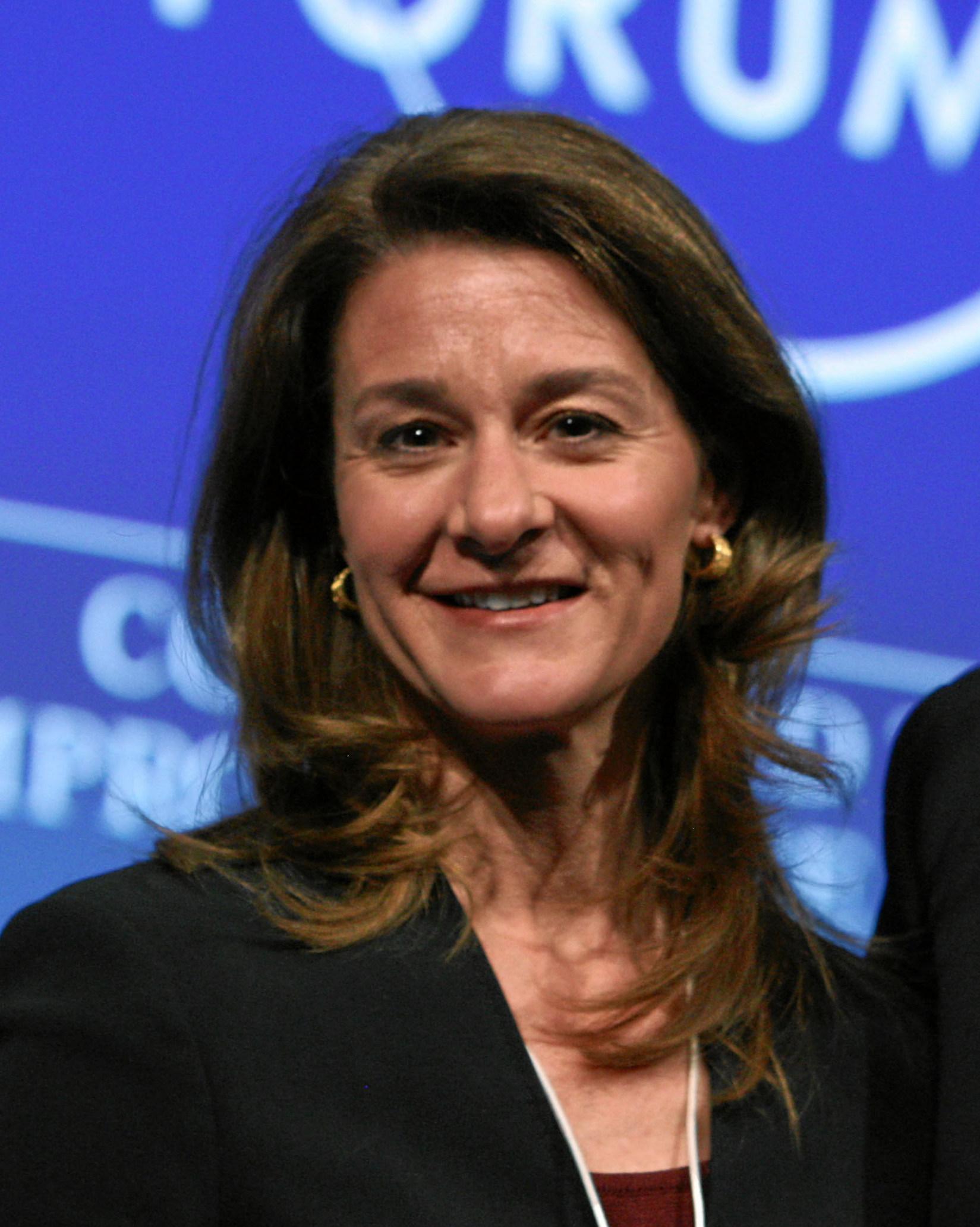 Melinda Gates Mulheres mais poderosas do mundo