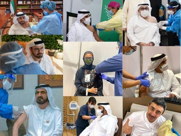 Ministros dos Emirados recebem vacina contra Covid19