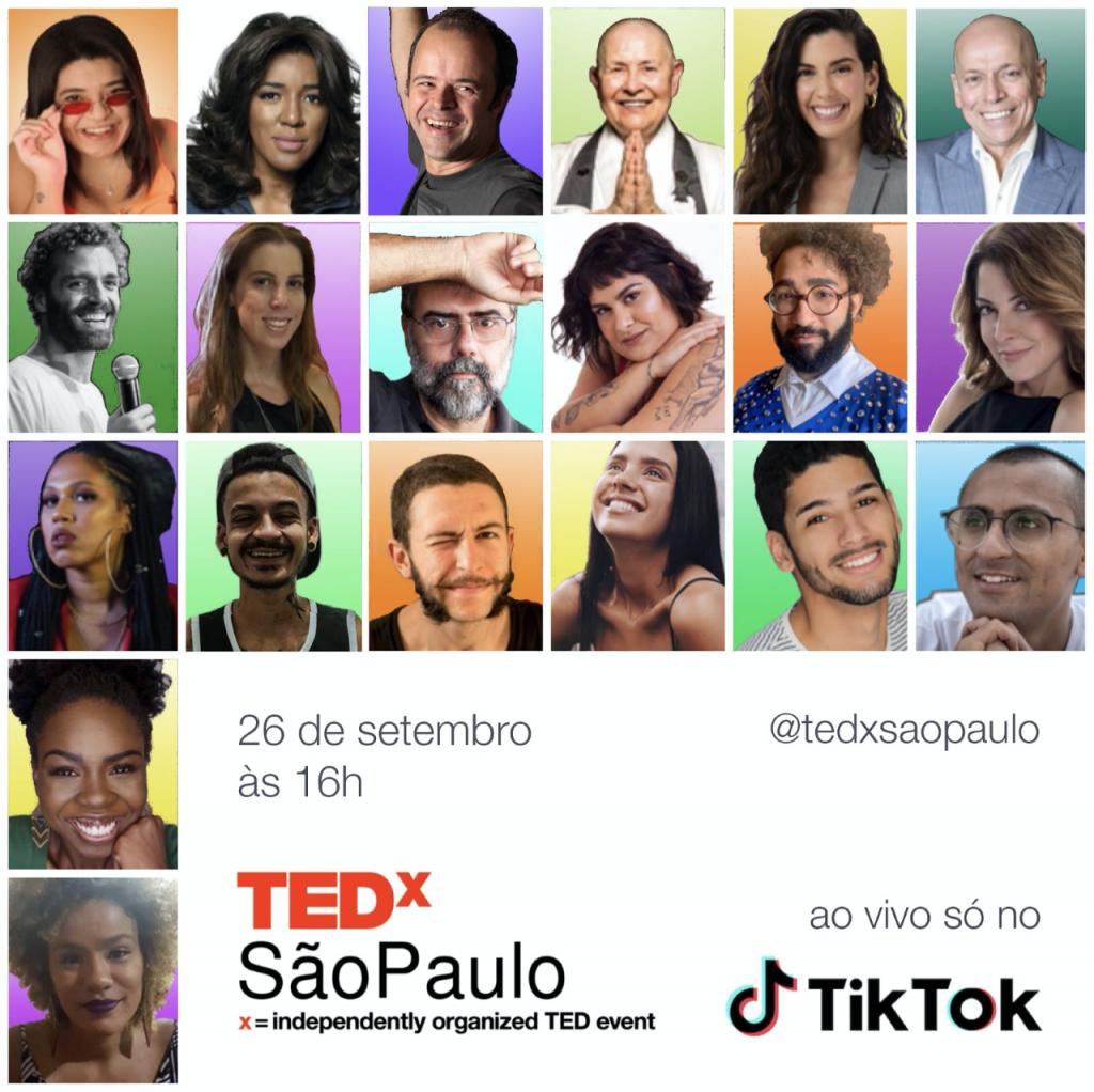 TEDx São Paulo e Tiktok em 2020